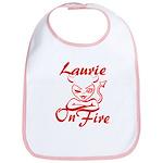 Laurie On Fire Bib