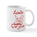 Linda On Fire Mug