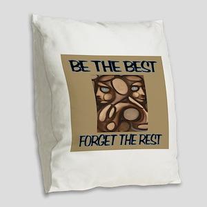 BEST Burlap Throw Pillow