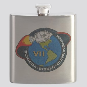 Apollo 7 Mission Patch Flask