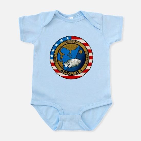 Apollo 1 Mission Patch Infant Bodysuit