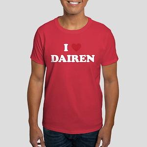 I Love Dairen Dark T-Shirt