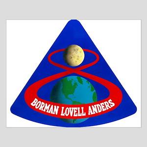 Apollo 8 Mission Patch Small Poster