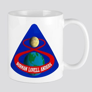 Apollo 8 Mission Patch Mug
