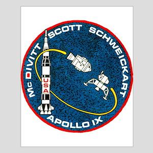Apollo 9 Mission Patch Small Poster