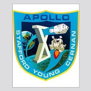 Apollo 10 Mission Patch Small Poster