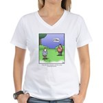GOLF 067 Women's V-Neck T-Shirt