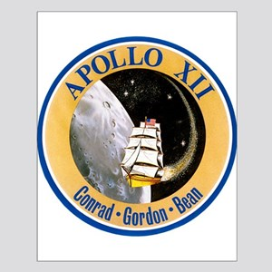 Apollo 12 Mission Patch Small Poster