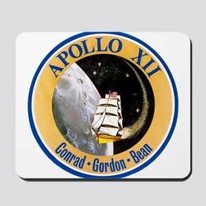 Apollo 12 Mission Patch Mousepad