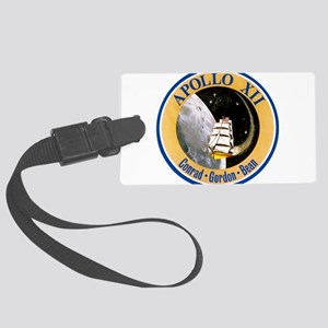 Apollo 12 Mission Patch Large Luggage Tag