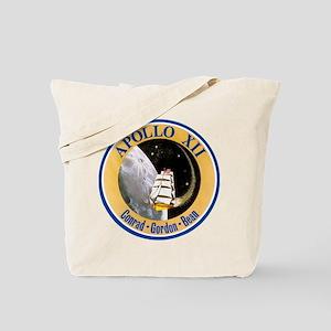 Apollo 12 Mission Patch Tote Bag