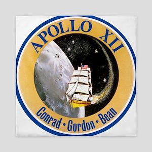 Apollo 12 Mission Patch Queen Duvet