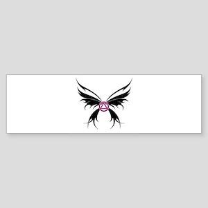 Womans Tribal Butterfly 2000x2000 Sticker (Bum
