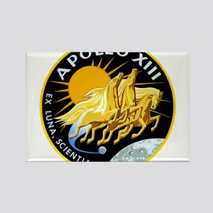 Apollo 13 Mission Patch Rectangle Magnet