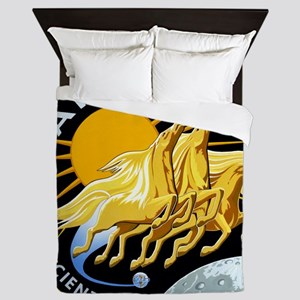 Apollo 13 Mission Patch Queen Duvet