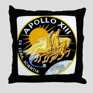 Apollo 13 Mission Patch Throw Pillow