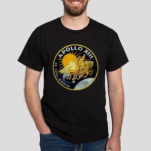 Apollo 13 Mission Patch Dark T-Shirt