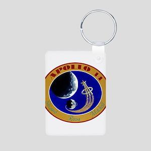 Apollo 14 Mission Patch Aluminum Photo Keychain