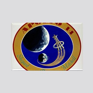 Apollo 14 Mission Patch Rectangle Magnet