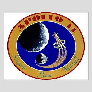 Apollo 14 Mission Patch Small Poster