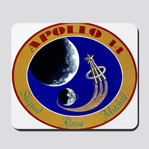 Apollo 14 Mission Patch Mousepad