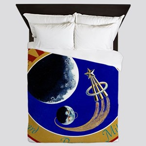 Apollo 14 Mission Patch Queen Duvet