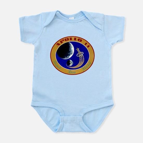 Apollo 14 Mission Patch Infant Bodysuit