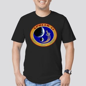 Apollo 14 Mission Patch Men's Fitted T-Shirt (dark