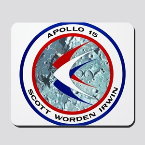 Apollo 15 Mission Patch Mousepad
