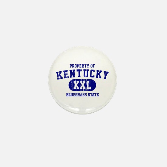 Property of Kentucky, Bluegrass State Mini Button