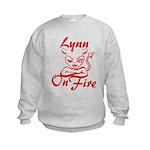 Lynn On Fire Kids Sweatshirt
