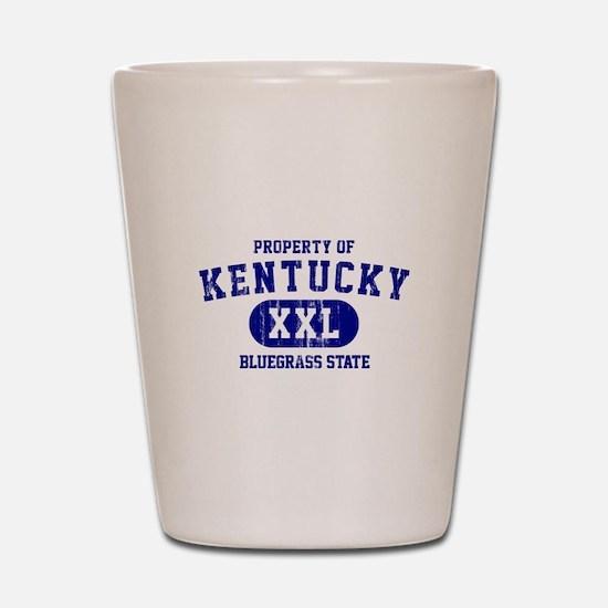 Property of Kentucky, Bluegrass State Shot Glass