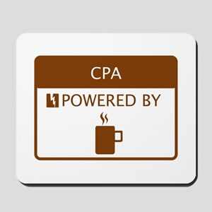 CPA Powered by Coffee Mousepad