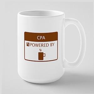 CPA Powered by Coffee Large Mug