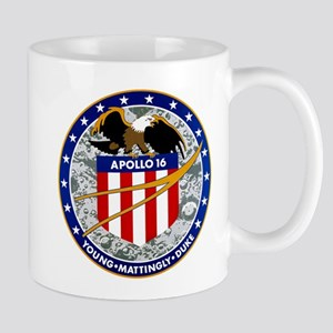 Apollo 16 Mission Patch Mug