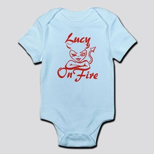 Lucy On Fire Infant Bodysuit