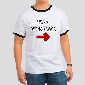 Likes Showtunes (Arrow) Ringer T