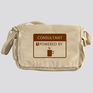 Consultant Powered by Coffee Messenger Bag