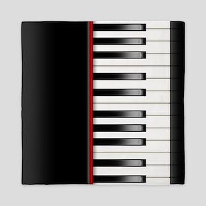 Piano Keyboard Queen Duvet