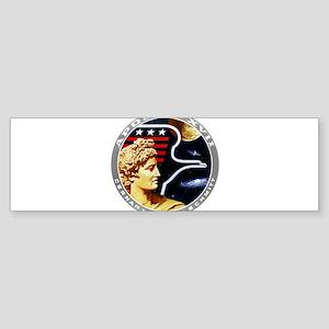 Apollo 17 Mission Patch Sticker (Bumper 10 pk)