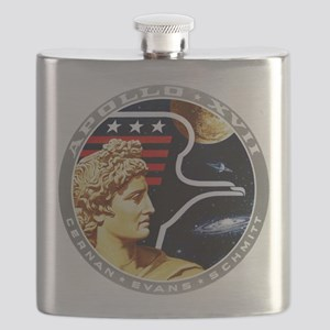 Apollo 17 Mission Patch Flask