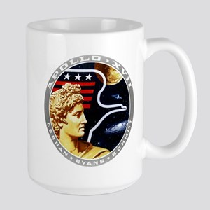 Apollo 17 Mission Patch Large Mug