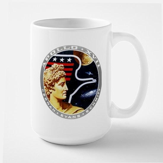 Apollo 17 Mission Patch Large Mug