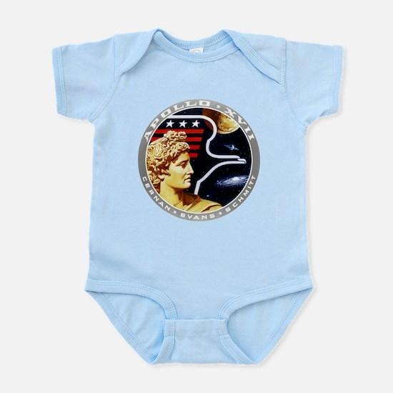 Apollo 17 Mission Patch Infant Bodysuit