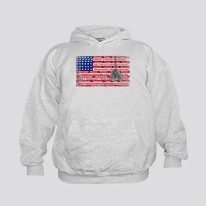 """Thank You Veteran"" Kids Hoodie"