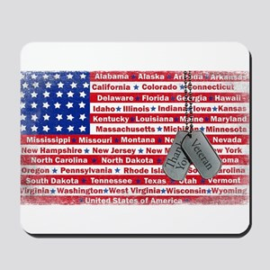 """Thank You Veteran"" Mousepad"