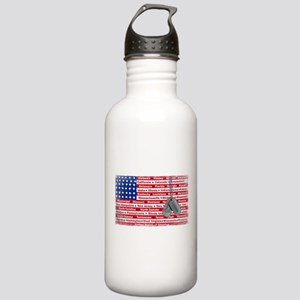 """Thank You Veteran"" Stainless Water Bottle 1.0L"