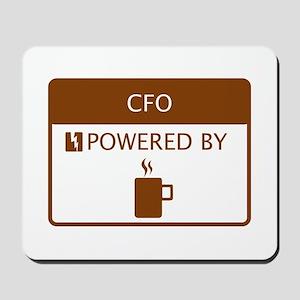 CFO Powered by Coffee Mousepad