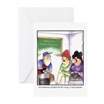 GOLF 011 Greeting Cards (Pk of 10)