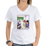GOLF 011 Women's V-Neck T-Shirt